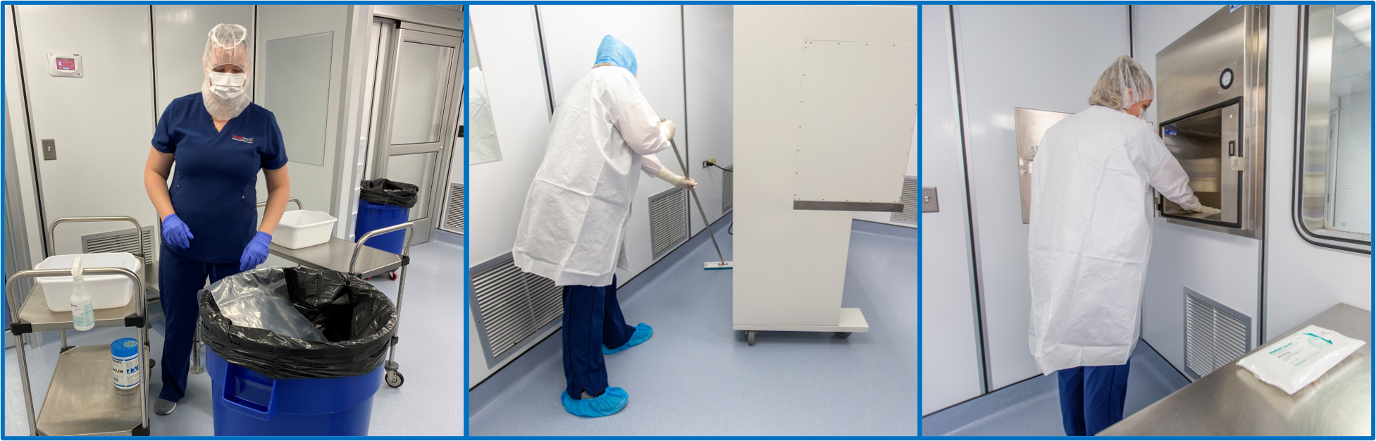 Contamination Control and Cleaning (ON-DEMAND)